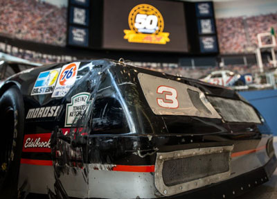 3-Fender-Bender at the NASCAR Hall of Fame